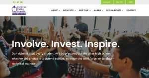 bellevue public schools foundation website home page header