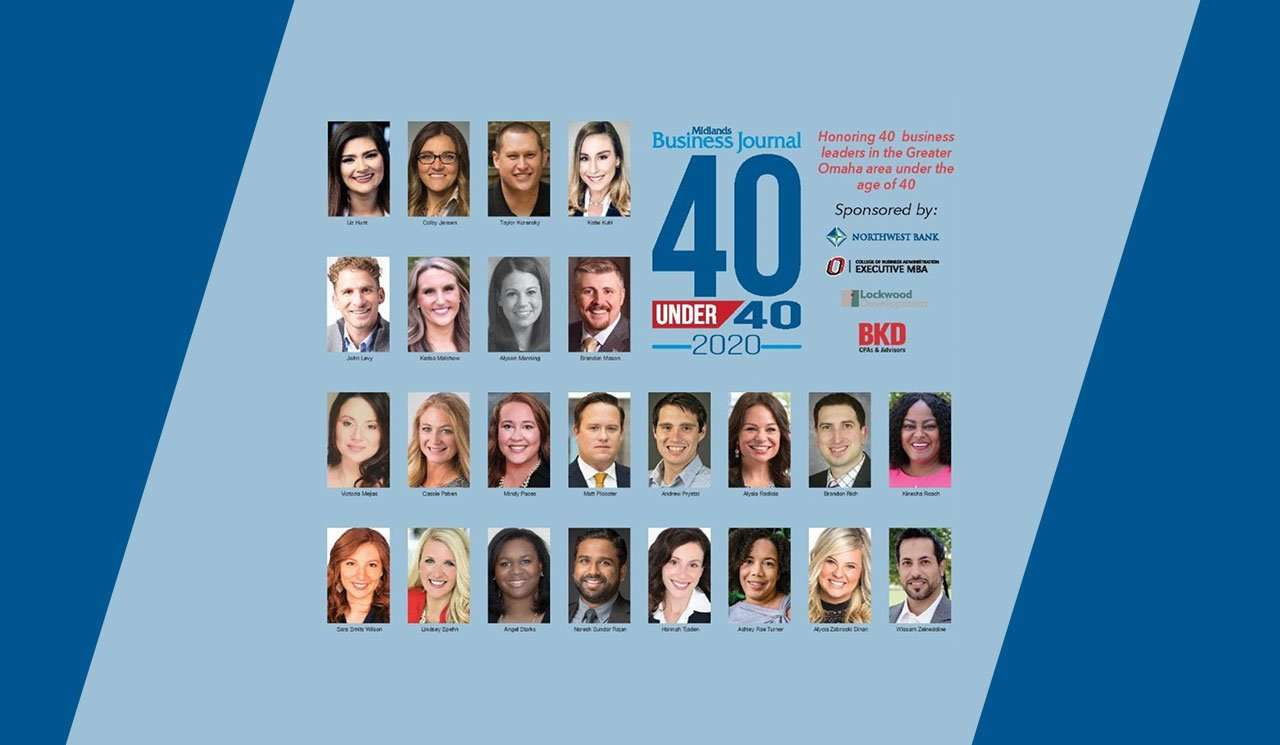 midlands business journal 40 under 40 2020 cover