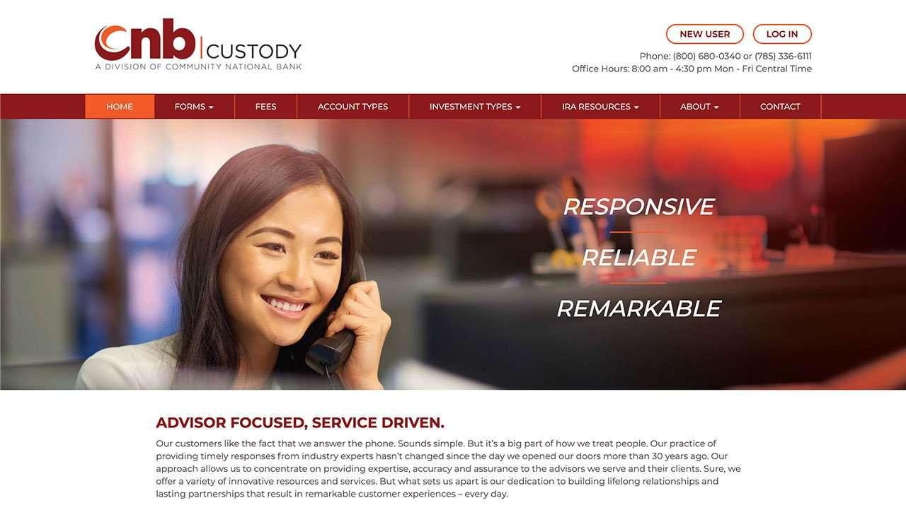 cnb custody branding