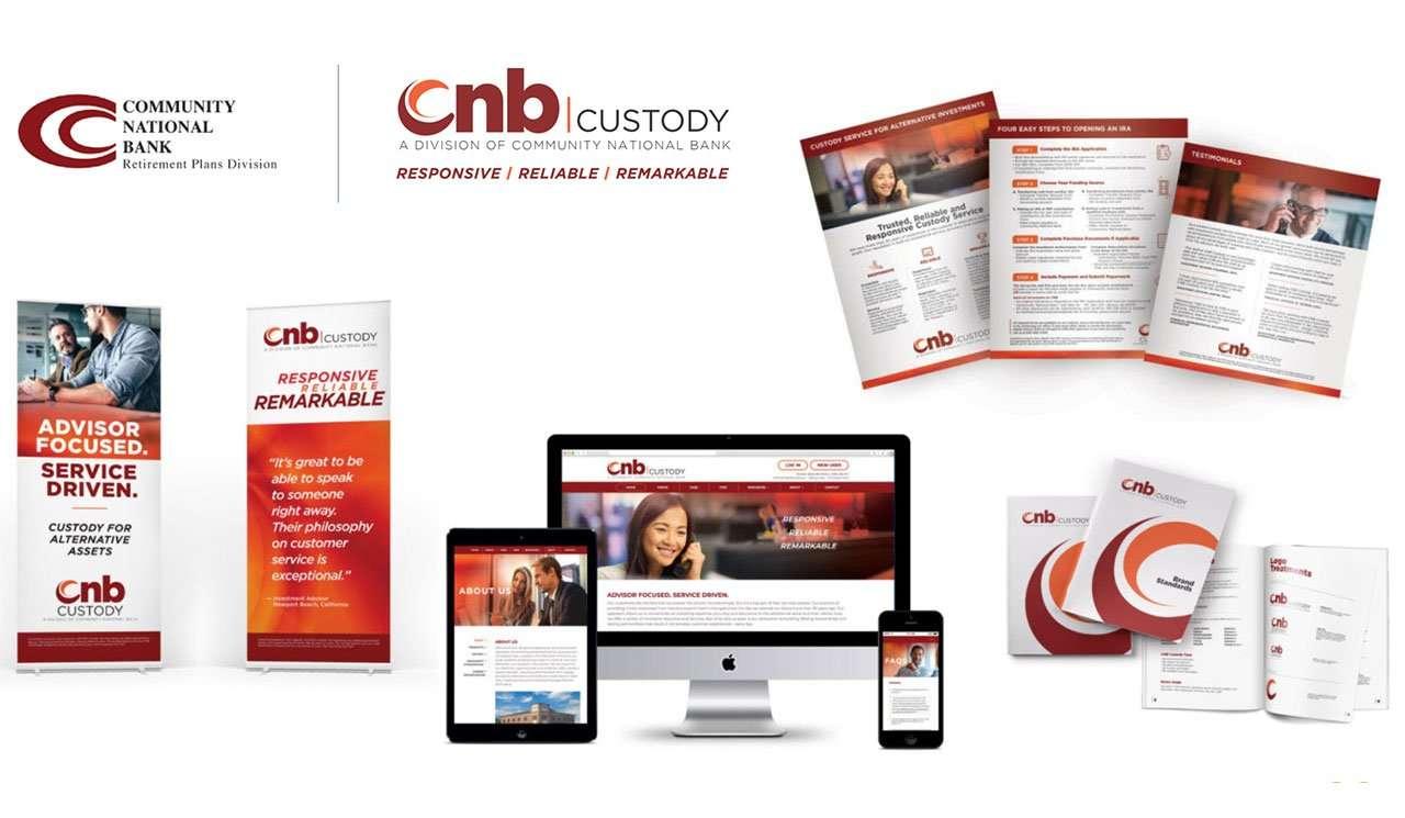 cnb custody branding material