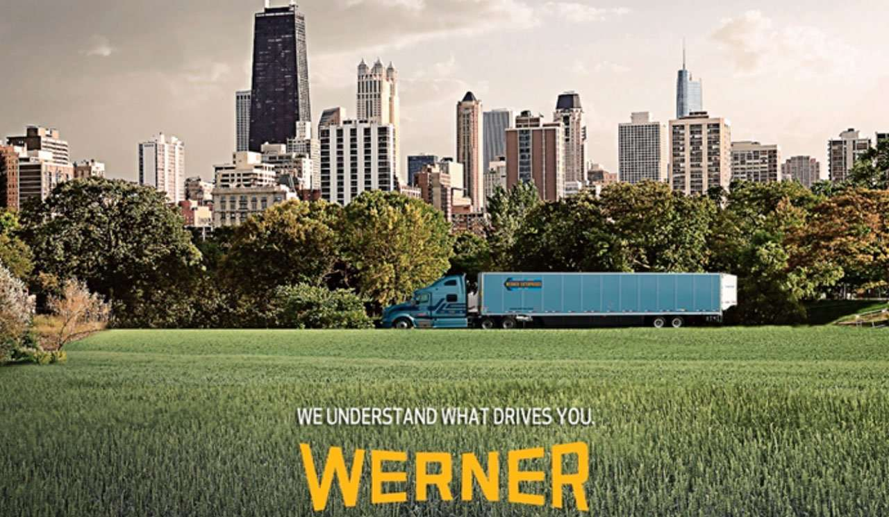 Werner Enterprises print campaign