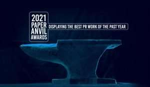 """2021 Paper Anvil Awards """"Displaying the Best in PR Work of the Past Year"""""""